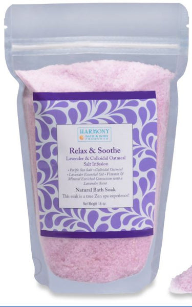Relax & Soothe Infusion - The Most Amazing Bath Soak!