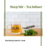 The Most Amazing Tea Infuser - The Steep Stir!  Extra Fine Mesh