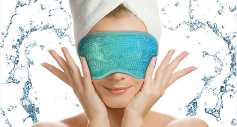 Best Eye Mask - Therapy Hot - Cold Gel Beads