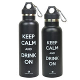 Best Sports Water Bottle - Insulated Stainless Steel