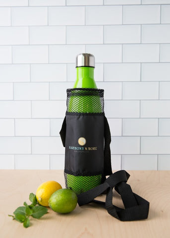 Best Water Bottle Holder – Made of Mesh with a  Comfortable Shoulder Strap