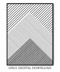 Abstract Geometric Posters
