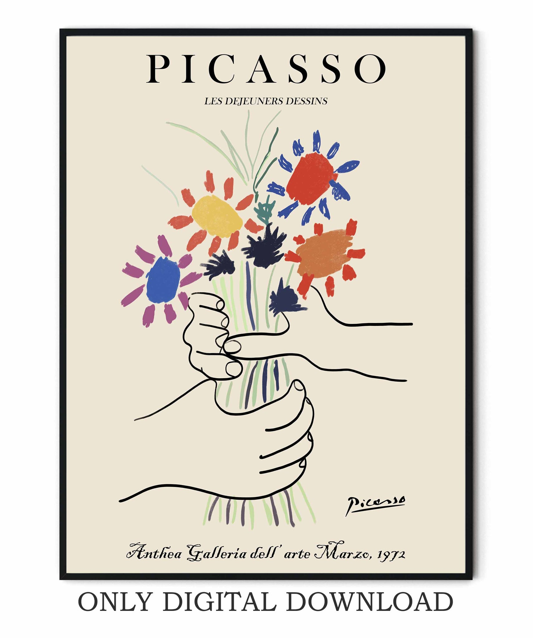 Picasso Bouquet of Peace