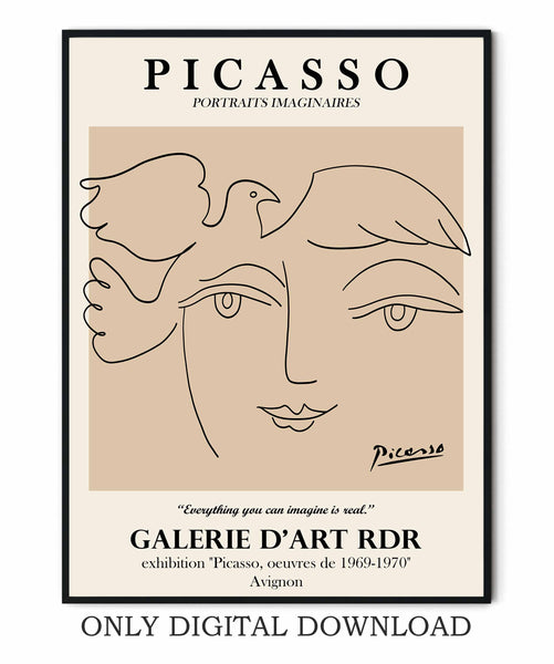 Picasso One Line Art