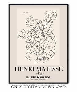 Vase of Flowers Matisse