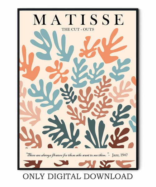Poster Matisse Cut Out