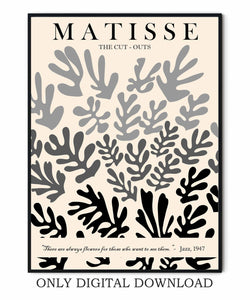 Cut outs Matisse Exhibition Poster
