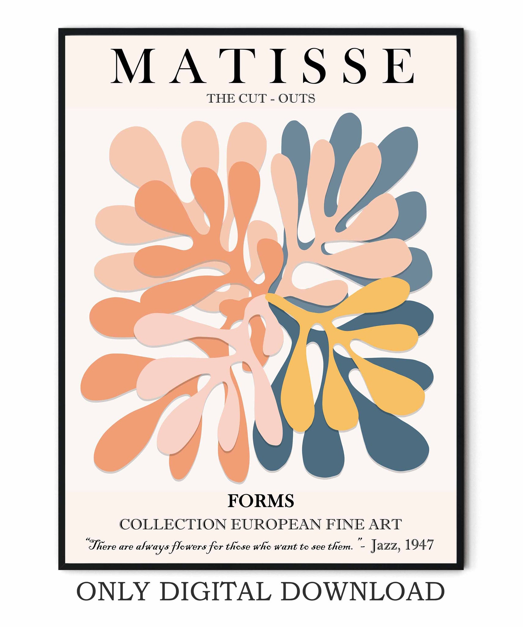 Matisse Abstract Poster