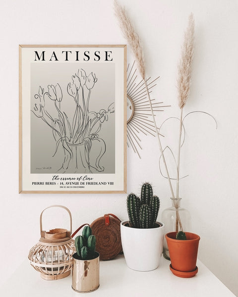 Matisse flowers poster