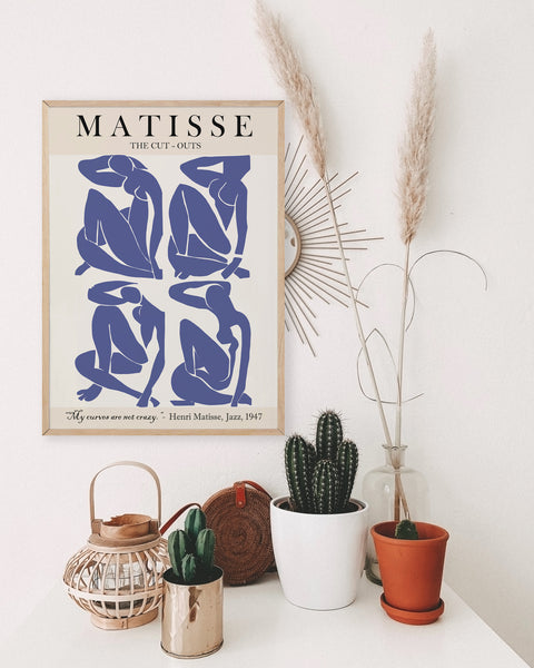 Matisse Cut outs figures