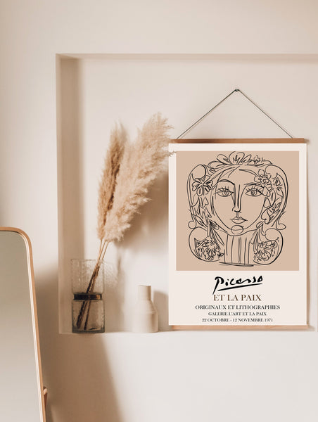 Picasso Female Poster