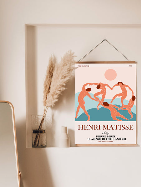 The Dance Inspired Henri Matisse Exhibition Poster Downloadable Art