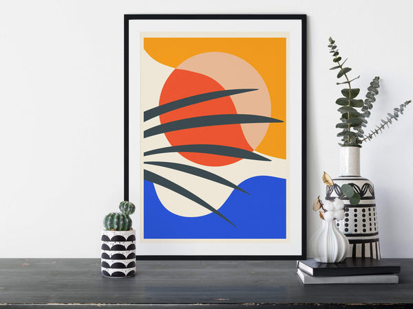 Abstract Art Set of 3 Prints | Abstract Gallery Wall Set | Printable Modern Art Poster Bundle | Abstract print set | Modern Minimal Art - Ros Ruseva