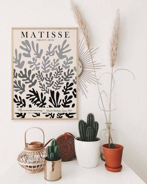 Henri Matisse poster abstract