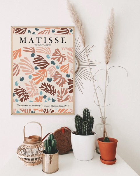 Matisse Exhibition Poster