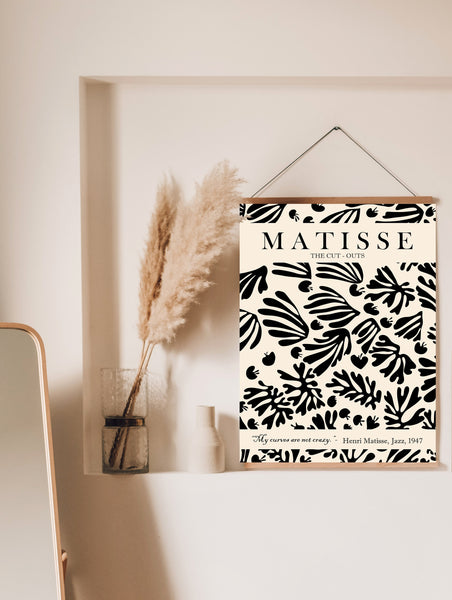 Matisse Cut Outs Poster