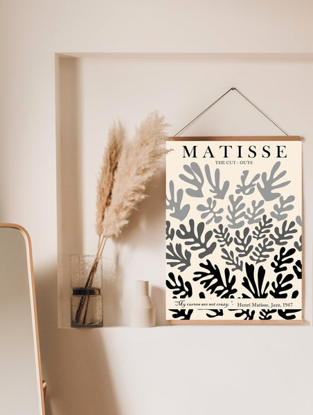 Cut outs Matisse poster