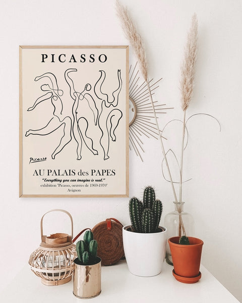 Picasso Dance Poster