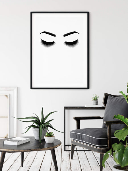 Girly Fashion Wall Art