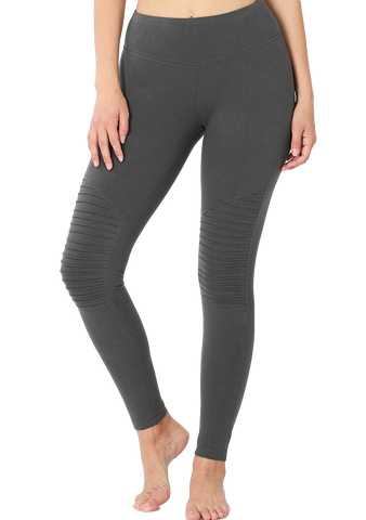 Talia Cotton Textured Leggings
