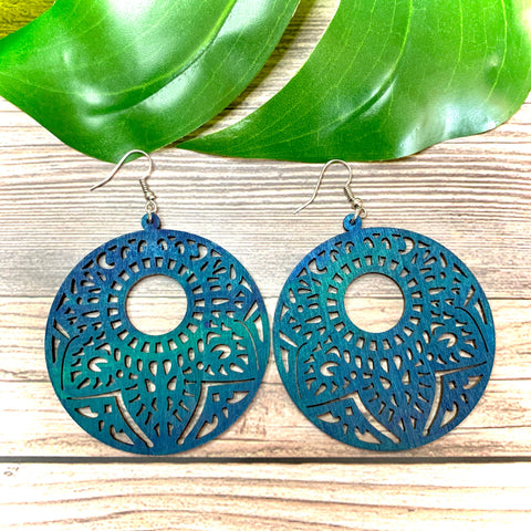 Ocean Dreams Laser Cut Earrings