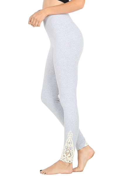 Isla Lace Accent Leggings