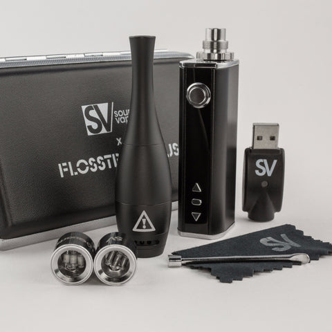 Flosstradamus SOURCE orb XL Grade 1 Titanium Atomizers for wax vapes