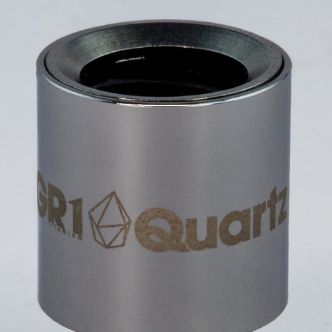 SOURCE orb XL Grade 1 Titanium triple coil quartz atomizer