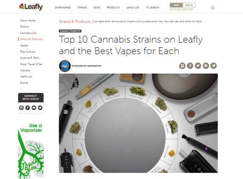 Leafly reviews SOURCE nail coil-less atomizer eRig
