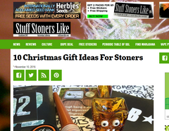 Stuff Stoners Like Holiday Gift Guide 2016