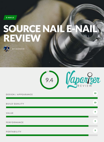 Vaporizer Review SOURCE nail Portable eNail and Vape Pen by SOURCEvapes