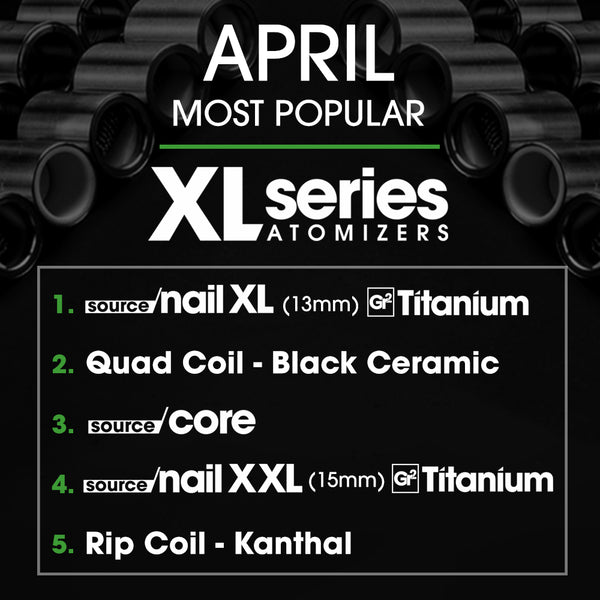 XL Series atomizers Most Popular 2018