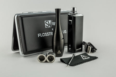 Flosstradamus SOURCE orb XL Triple Coil Vape Pen