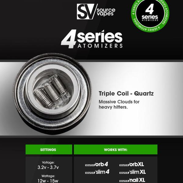XL Series atomizers