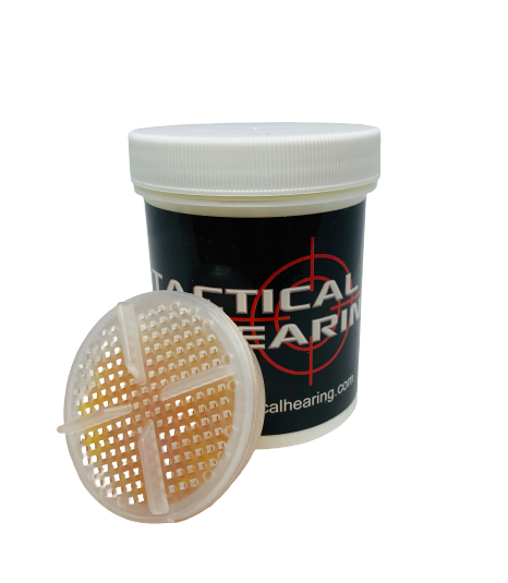 TACTICAL HEARING dehumidifier cleaning accessories performance hearing device maintenance