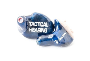 Tactical Hearing Blue Venom Best Hearing Protection For Hunters Shooters Custom Ear Protection