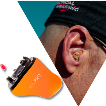 Tactical Hearing HS8 earbud