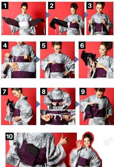 obi kimono instructions for use
