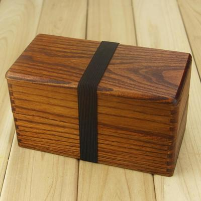 Traditional Japanese Wooden Bento