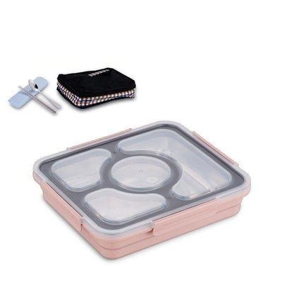 Waterproof Japanese Bento Box pink