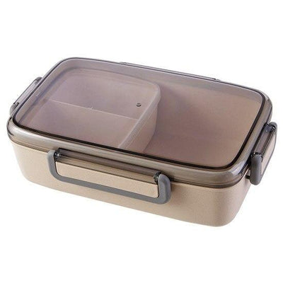 Japanese Bento Lunch Box beige