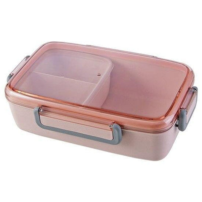 Japanese Bento Lunch Box pink