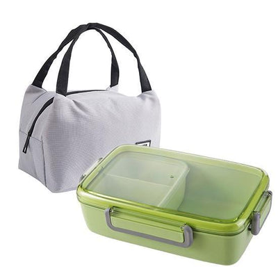 Japanese Bento Lunch Box green with bag
