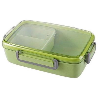 Japanese Bento Lunch Box Green