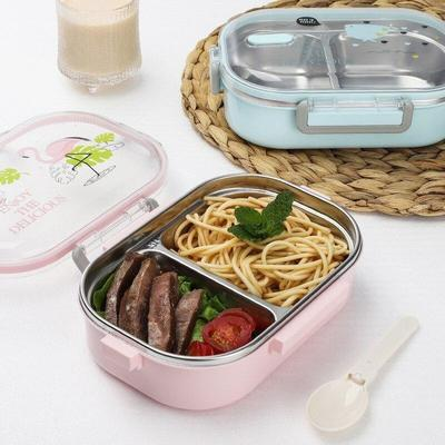 Kawaii Stainless Steel Bento Box for lunch