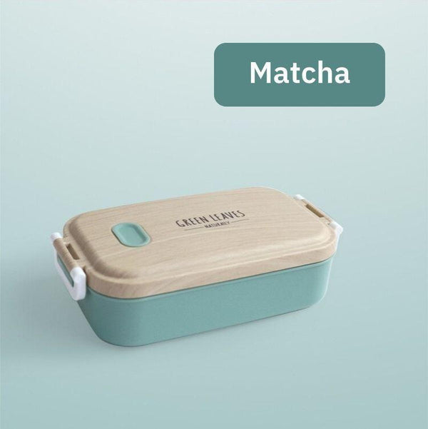 Naturally Stainless Steel Bento Box Matcha