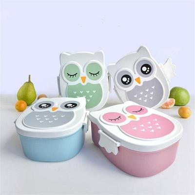 Kawaii Owl Bento Box for meal