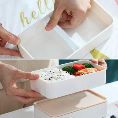 Wooden Style Bento Box for meal