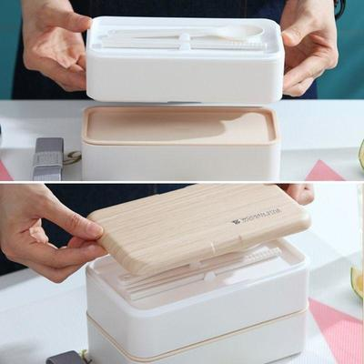 Wooden Style Bento Box for lunch