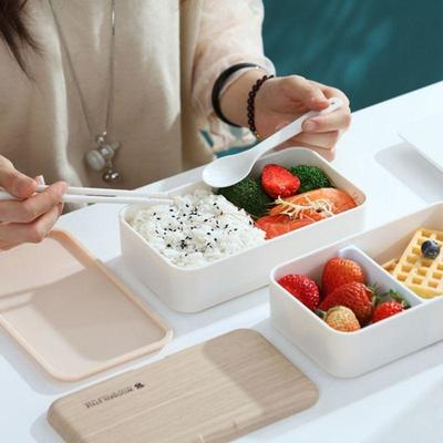 Wooden Style Bento Box for vegetables